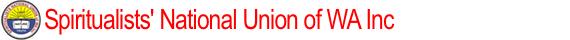 Spiritualists National Union of WA Inc